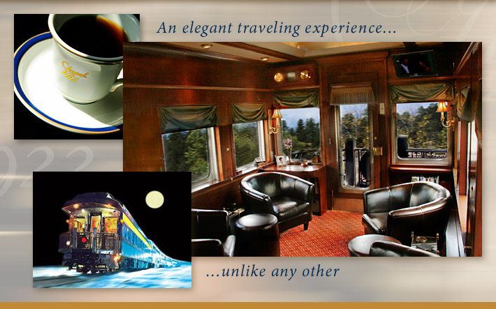 An elegant traveling experience unlike any other